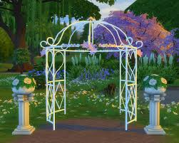 wedding arches in sims 4 2 to 4 princess bliss tie the knot gazebo as a wedding arch
