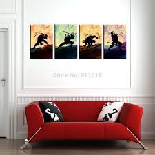 Abstract Home Decor 4p Cartoon Painting Hand Painted Abstract Wall Paintings Home