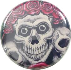 skulls with roses badge 1 20 cart 1 5 german version