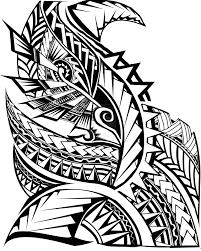 latest polynesian samoan tattoo on half sleeve