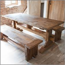 the custom crafted dining room table was created for new