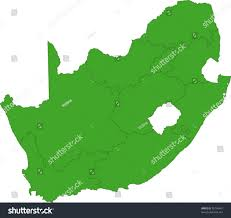 Blank Map Of South African Provinces by South Africa Map Designed Illustration Provinces Stock Vector