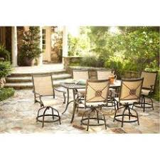 High Patio Dining Set Hton Bay Carol 7 Balcony High Patio Dining Set
