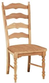 Seat Chair Unfinished Dining Chairs And Finished Dining Chairs