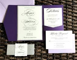 wedding invitations ebay glitter wedding invitations as well as plum and silver glitter