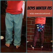 sewing boys pj sew outnumbered