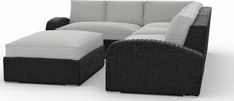patio sectional sofa toja patio furniture azores 5 piece outdoor sectional sofa set