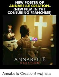 Creation Meme - new poster of annabelle creation new film in the conjuring franchise