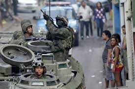 violence in rio de janeiro military police deployed business insider
