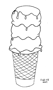 coloring page cone free cone coloring page