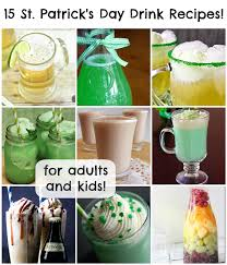15 st patrick u0027s day drink recipes for adults and kids pet scribbles