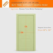 Patio Door Magnetic Screen Homelife Elements Magnetic Screen Door For Doors Sliding