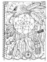 butterfly dreamcatcher coloring page instant download digital file