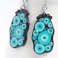 quilling earrings tutorial pdf free download paper quilled earrings honey s quilling
