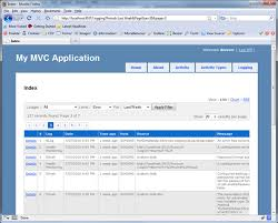 layout design in mvc 4 log reporting dashboard for asp net mvc codeproject