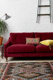 2017 latest red sofa chairs