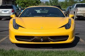 Ferrari 458 Yellow - spotted ferrari 458 italia