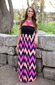 fabulous strapless maxi dress