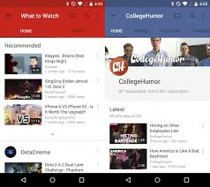 download youtube red apk youtube android app gets updated with material design apk up for