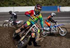 junior motocross racing gold bar 14 year old qualifies for national motocross event