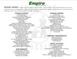 empire builders ironside crossing