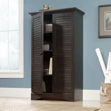 clothes storage cabinets with doors harbor view storage cabinet 416797 sauder