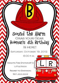 fire truck halloween basket fire truck invitation firehat invitation fire fighter