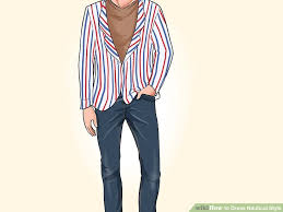 nautical chic attire how to dress nautical style 10 steps with pictures wikihow