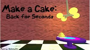 Where To Buy A Cake Box Make A Cake Back For Seconds Roblox