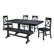 remarkable black dining bench with back with comfortable design