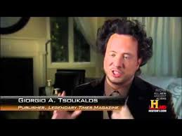 History Channel Aliens Meme - giorgio tsoukalos reveals some of his theories aliens
