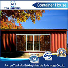 china modern design hotel prefab shipping container house china