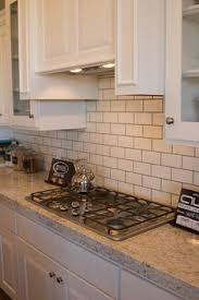 Brown Subway Tile Backsplash by Subway Tile Backsplash White Tile Backsplash White Tiles And