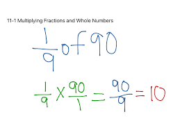 Multiplying Fractions By Whole Numbers Worksheets Showme Distributive Property Using Fractions And Whole Numbers