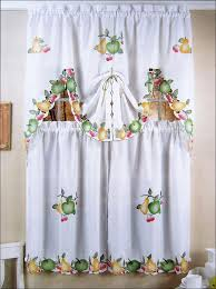 Fancy Kitchen Curtains Kitchen Blue And Yellow Curtains Fancy Kitchen Curtains Bathroom