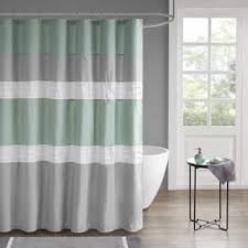 Green And Gray Shower Curtain Grey Shower Curtains For Less Overstock Vibrant Fabric