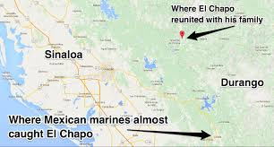 Map Of Western Mexico by El Chapo Pet Monkey Business Insider