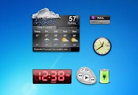 gadget de bureau meteo weather gadgets windows 7 8 10 gadgets
