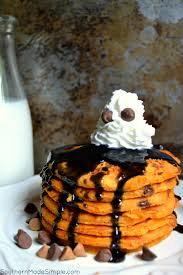 haunted halloween pancakes southern made simple