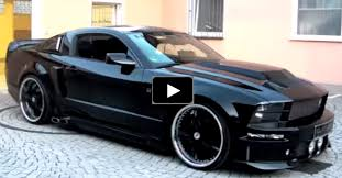 striking ford mustang eleanor cervini show car ford mustangs