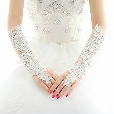 gant mariage gant gants de mariée gants de fête soirée longueur coude mitaine
