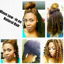 the best sew in human hair vixen sew in on natural hair youtube