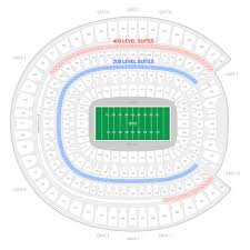 Pepsi Center Seating Map Denver Broncos Suite Rentals Sports Authority Field At Mile High