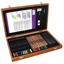 colouring pencils and sketching sets hobbycraft