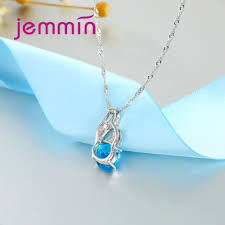 simple turquoise necklace images Jemmin high quality purple blue fire opal pendants necklaces for jpg
