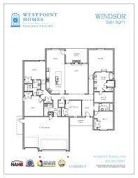 technical floor plan floor plans westpoint homes