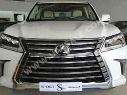 lexus uae second hand this 2016 lexus lx570 with a chopped roof is listed for 350 000