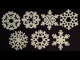 paper snowflake ornament paper snowflakes