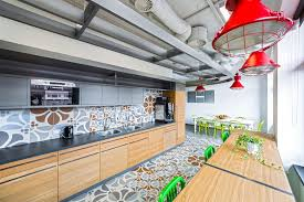 Office Kitchen Designs The New Opera Software Office Inspired By History And Architecture