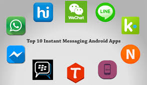 chat apps for android chat instant message icon free icons